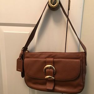 DKNY Leather Shoulder Handbag